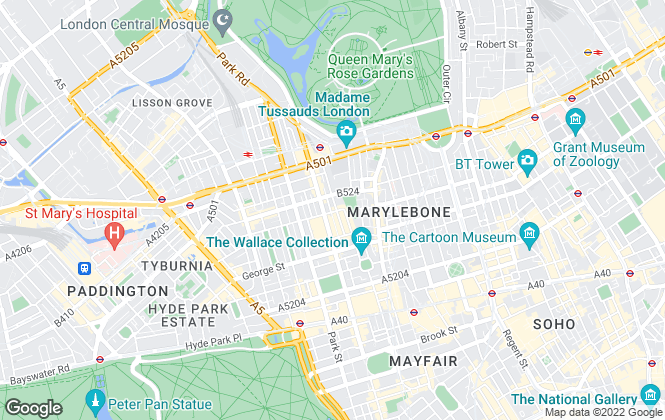 Map for Rokstone, London - Sales