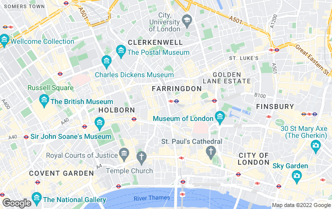 Map for Home Group, Re-Sales, Farringdon