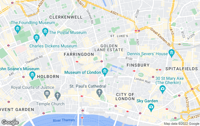 Map for Rentify, London
