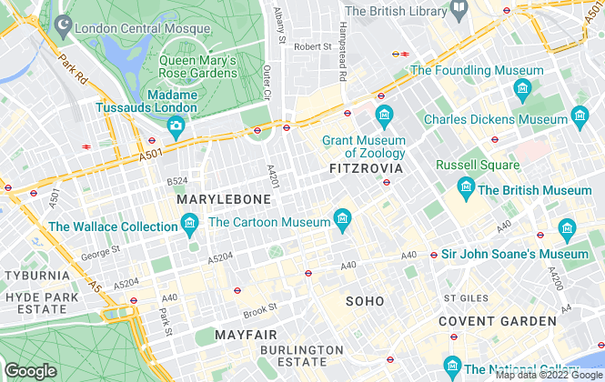 Map for Daniel Daggers Real Estate, London