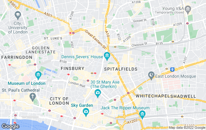 Map for One Touch Property Investment, London
