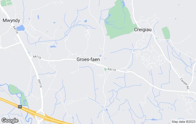 Map for Cedar Properties (Cardiff) Ltd, Cardiff