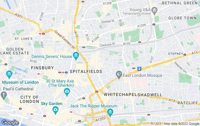 Map for Victorstone Property Consultants , E1