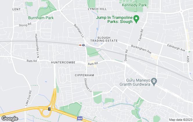 Map for Lambourne Carmody, Cippenham