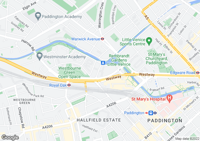 Map for Westbourne Terrace, Hyde Park, London, W2