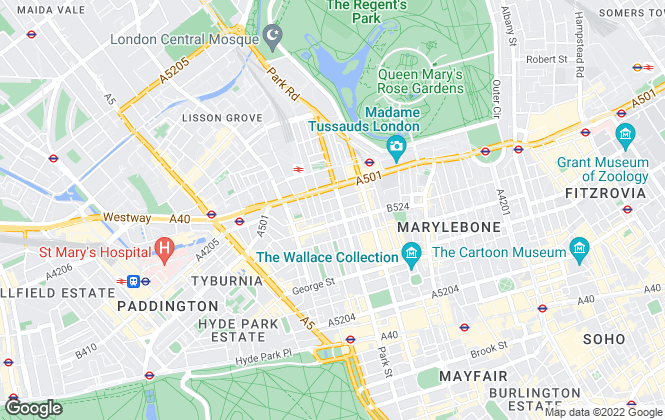 Map for Hampstead Apartments, London