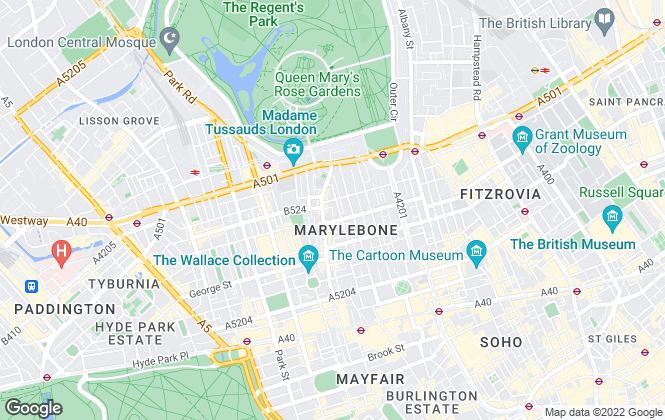 Map for Thames Apartments, London