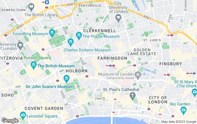 Map for Alexander Woolfe , London
