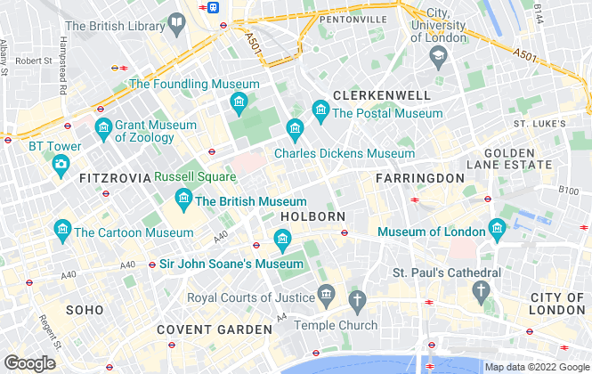 Map for Callum Roberts Property Consultants, London