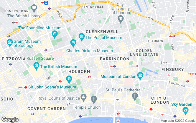 Map for Town and Country Property Auctions , London