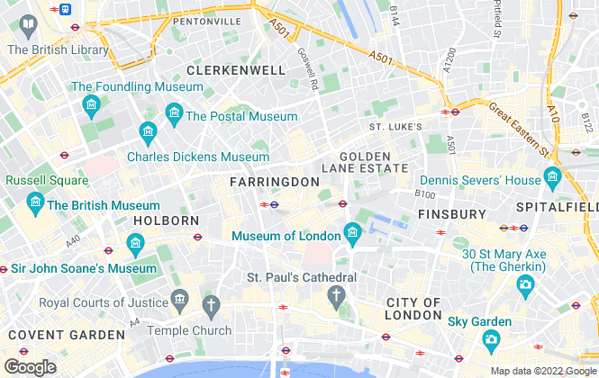 Map for Hurford Salvi Carr, London- New Homes