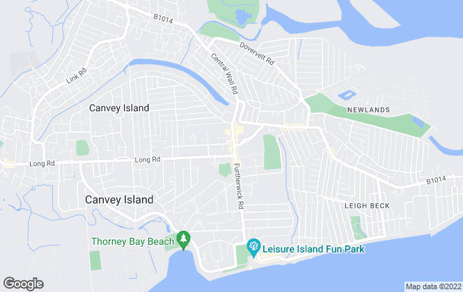 Map for Stephen Lane, Canvey Island