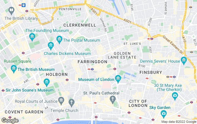 Map for Houst, London