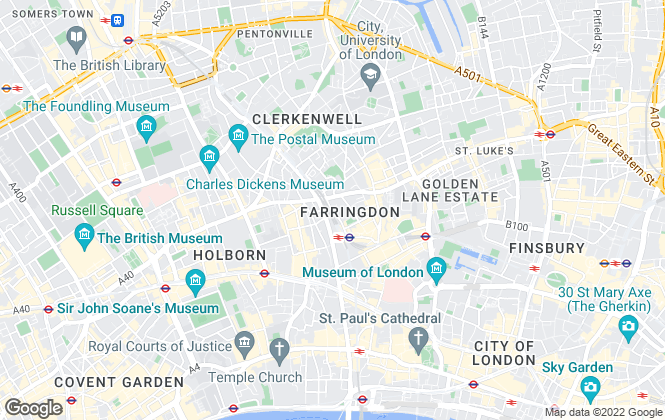 Map for Marldon, London