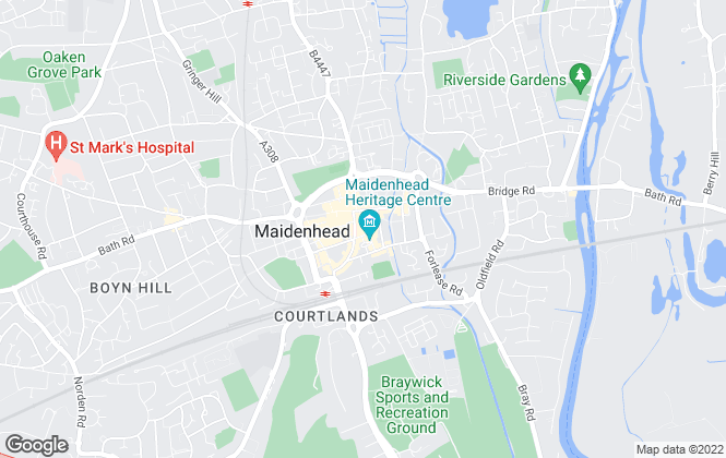 Map for Robinson, Maidenhead