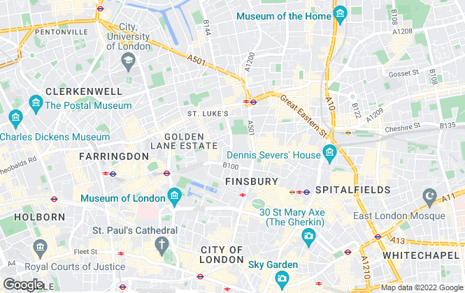 Map for Century Home Services, London