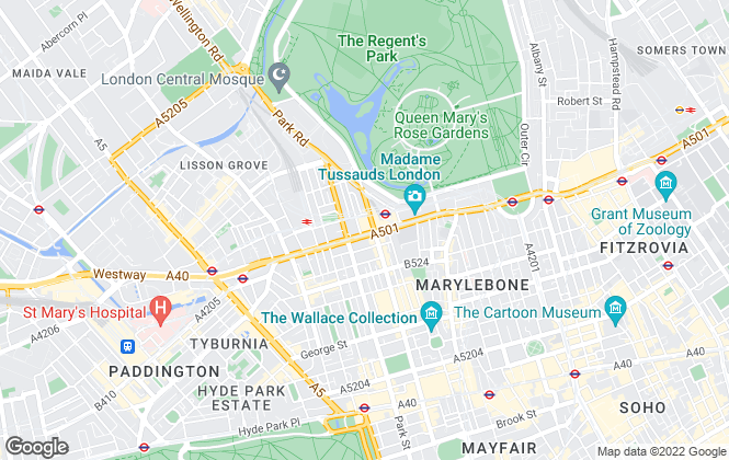 Map for The Real Property Experts, London