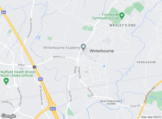 Map for A J Homes , Winterbourne