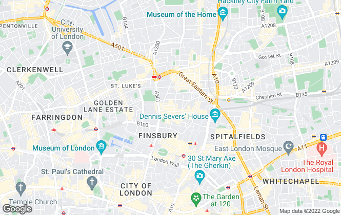 Map for Hanover Private Ltd, London