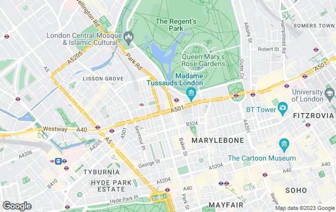 Map for Fraser & Co, London