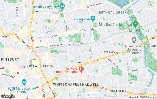 Map for Curtis Jones Estate Agents, London