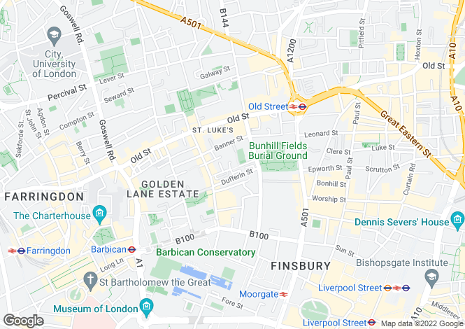 Map for Chequer Court, 3 Chequer Street, London, EC1Y