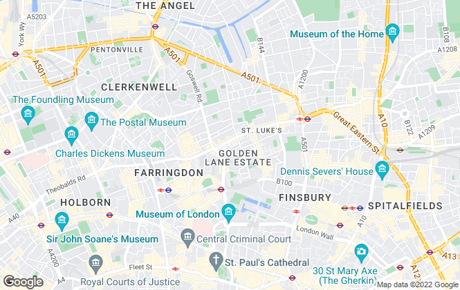 Map for Goodsir Commercial Limited, London