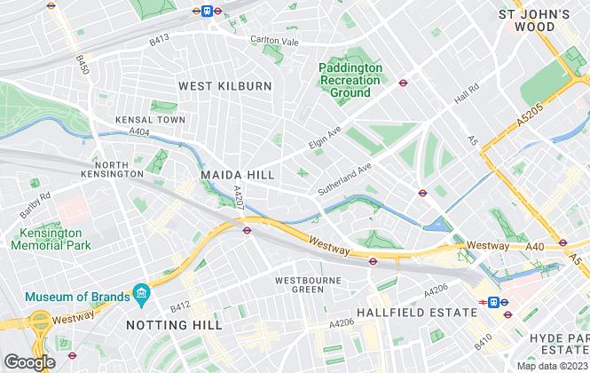 Map for Sulgrave Estates, London