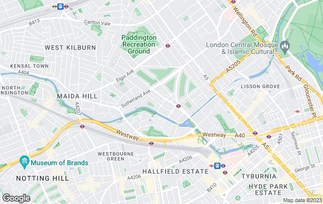 Map for Braithwait, London