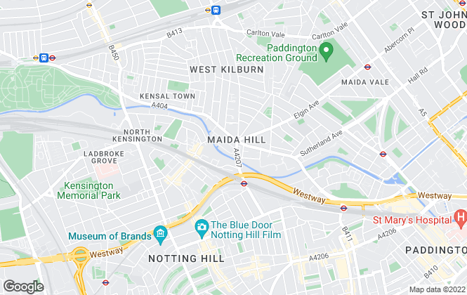 Map for Westways, London
