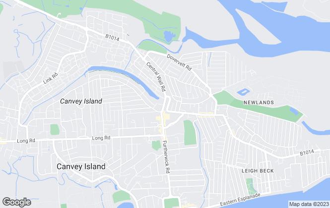 Map for Richard Poyntz & Co, Canvey Island