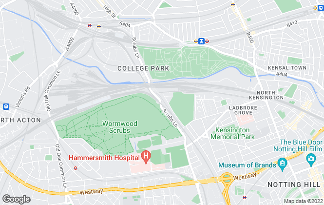 Map for Big Yellow Self Storage Co Ltd, Big Yellow North Kensington