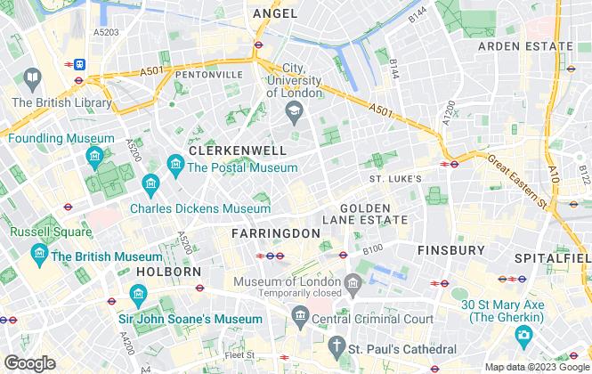 Map for Kapytal, London