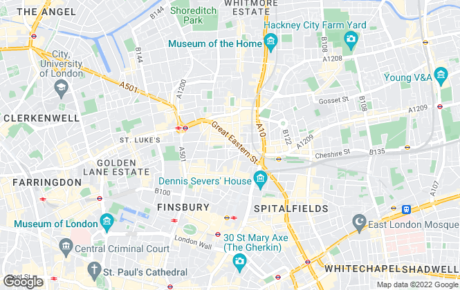 Map for Somerdale Management, London
