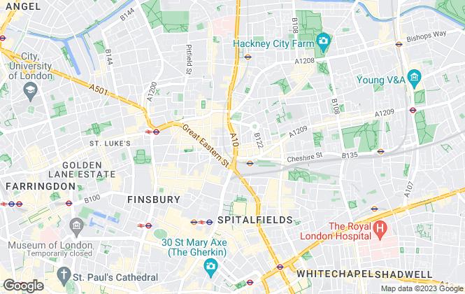 Map for Max Barney Ltd, London
