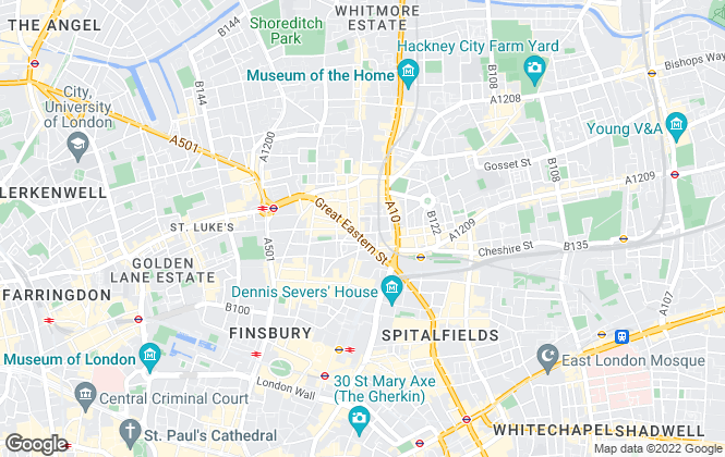 Map for Butler & Stag, Shoreditch
