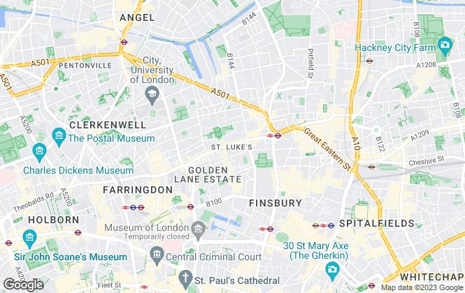 Map for VNRE , London