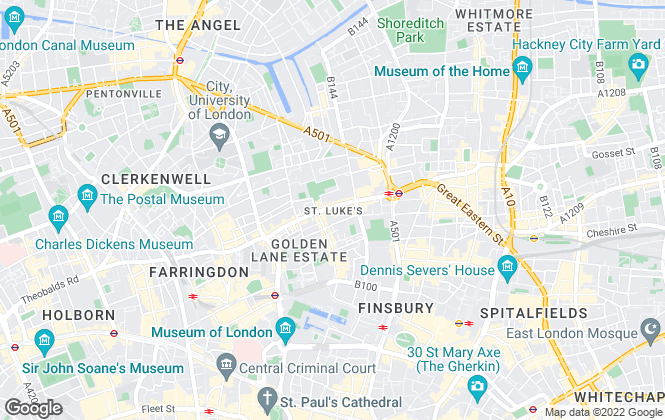 Map for The Managing Property Group, London