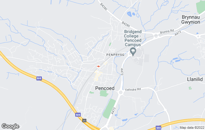 Map for Bidmead Cook, Pencoed