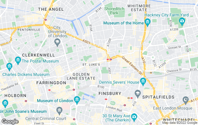 Map for Austin Homes London, London