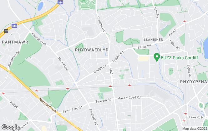 Map for Thomas Joseph, Cardiff