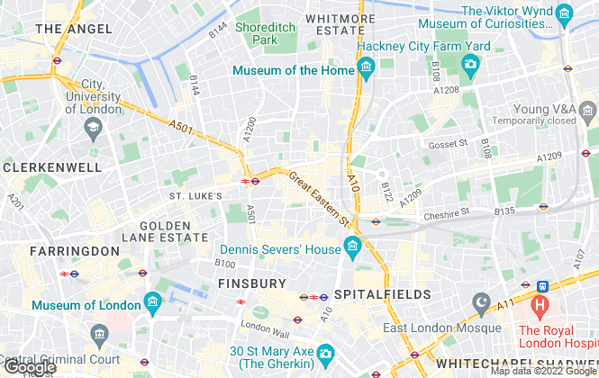 Map for MAKING MOVES, London