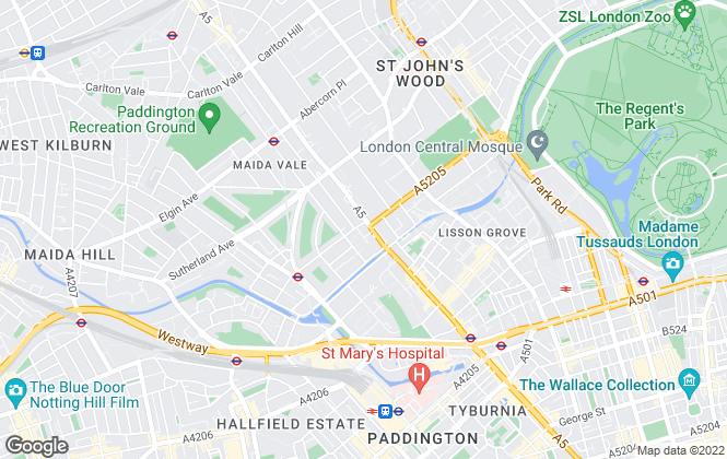 Map for Estate Office Lettings , London