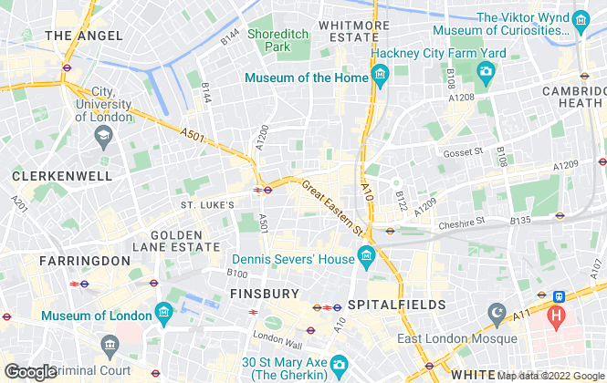 Map for Amilli Property, London