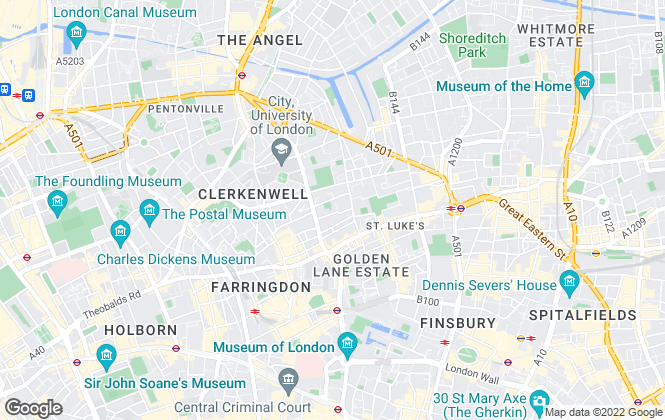 Map for Anton Page, London