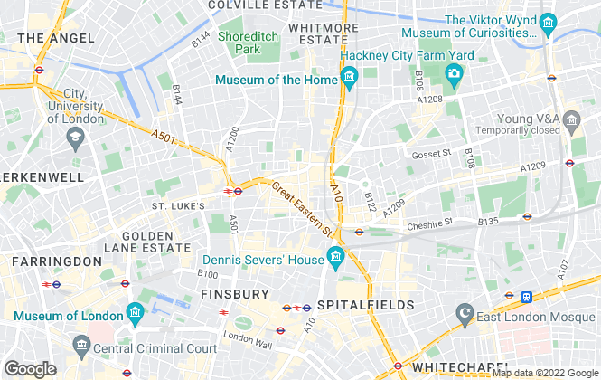Map for A Private Family Office, London