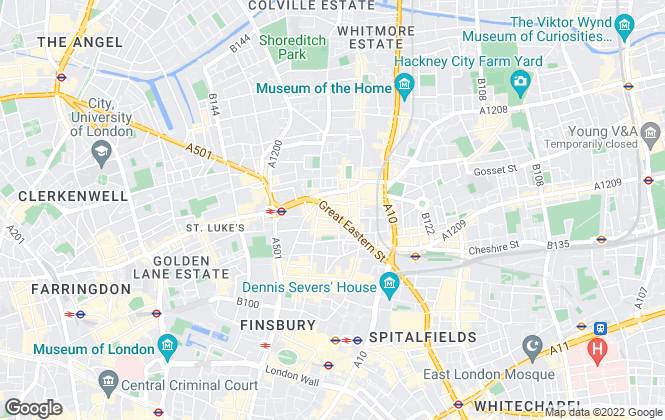 Map for Sans Pere, London