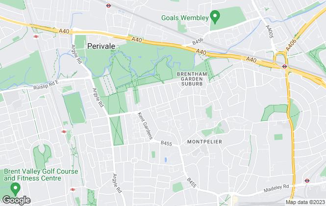Map for Saints Estate Consultancy, London
