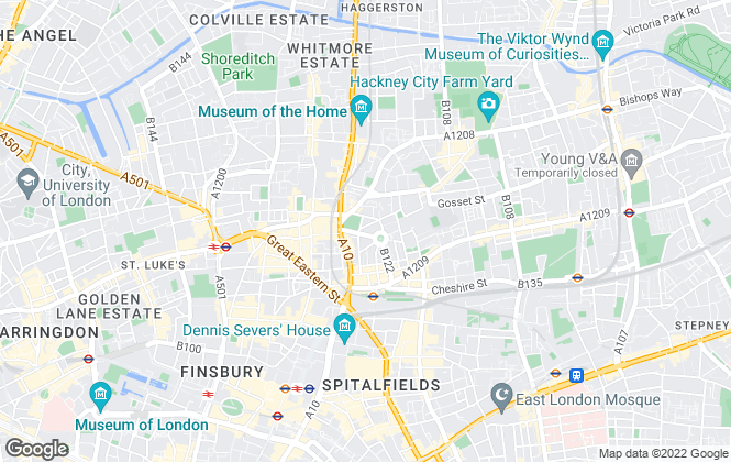 Map for TBA Property, London