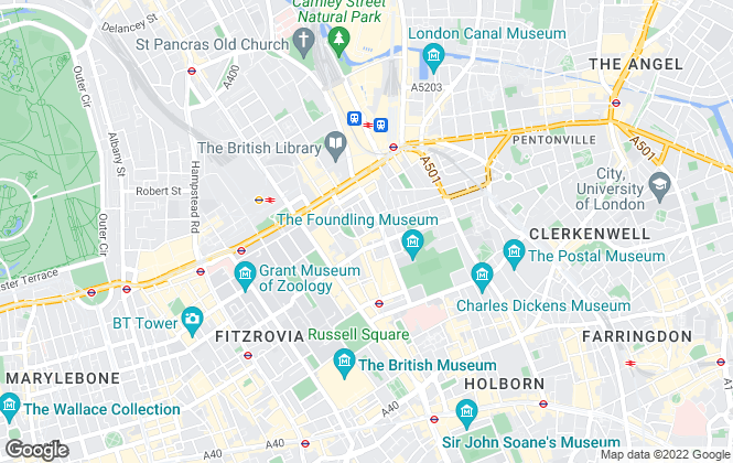 Map for Fresson & Tee Chartered Surveyors, London
